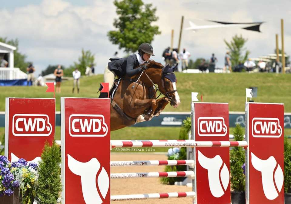 Ideal VDL wins 1.20m at Brave horse