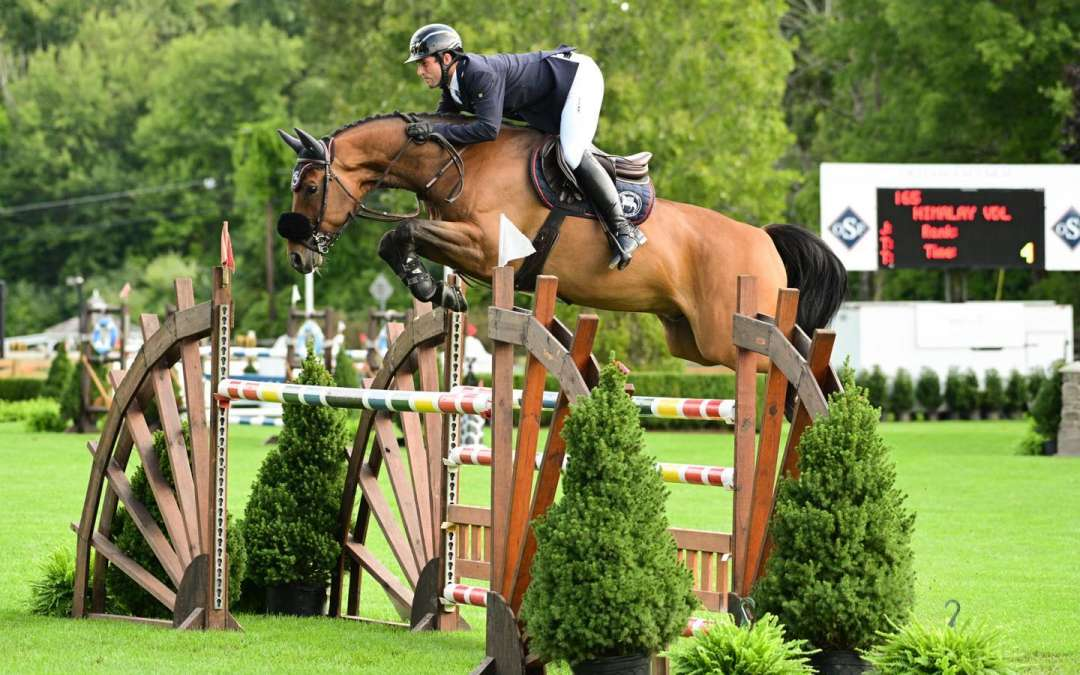 Himalay wins 1.30m Open
